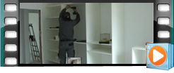 Video z montáže skříně - Beneš nábytek - www.benesnabytek.cz