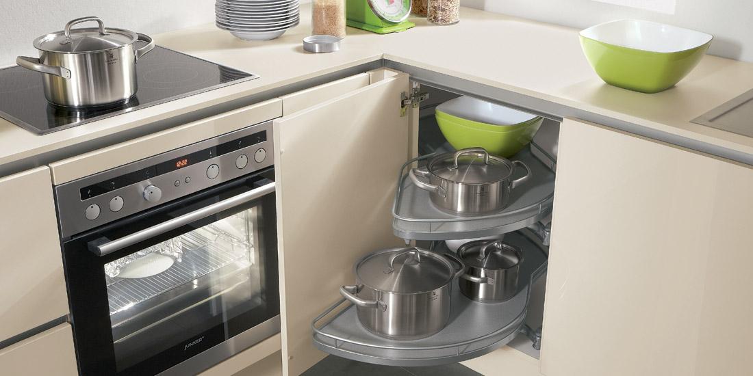 Jak na úložný prostor v malé kuchyni