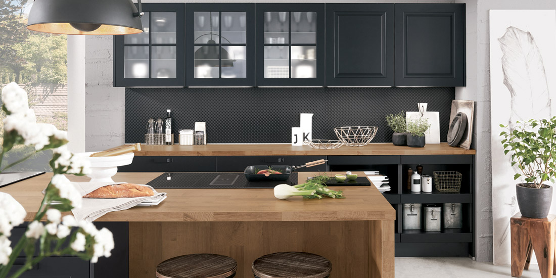Tmavé kuchyně
