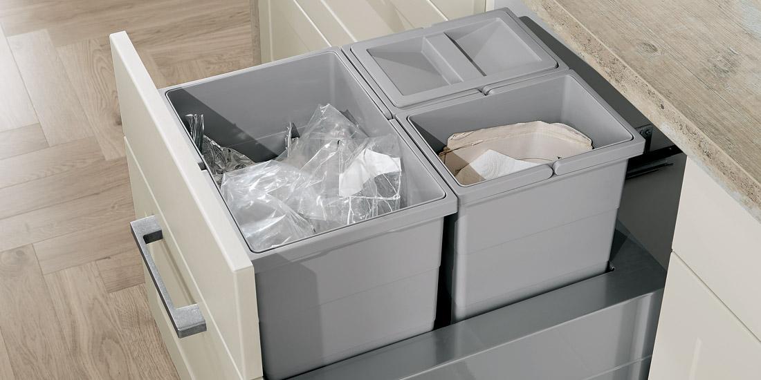 Odpadkový koš na tříděný odpad
