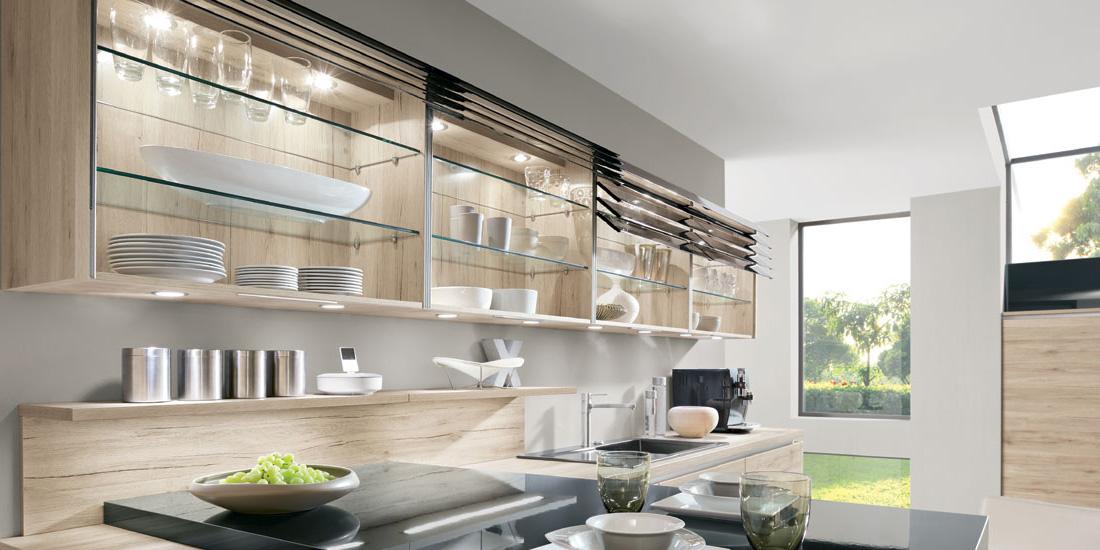 Skleněné kuchyně